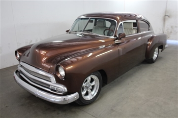 1951 Chevrolet Fleetline RWD Manual Coupe, 82,968 miles indicated