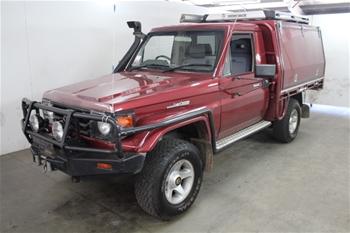 2001 Toyota Landcruiser 50th Anniversary 4WD Ute Manual - 5 Speed, 292,336 km indicated