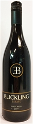 Blickling Estate Pinot Noir 2009 (12 x 750mL)New England, NSW.