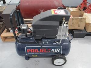 Project Air Compressor 2 5hp 40 Litre 240 Volt Auction