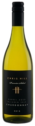 Chris Hill Premier Select Chardonnay 2015 (12 x 750mL),McLaren Vale, SA.