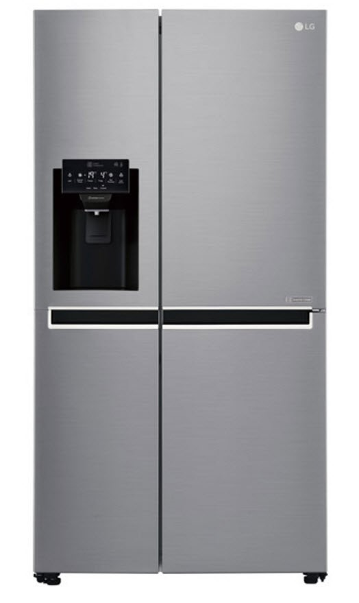 LG 668L Side By Side with Non Plumbed Ice & Water (GS-L668PNL)