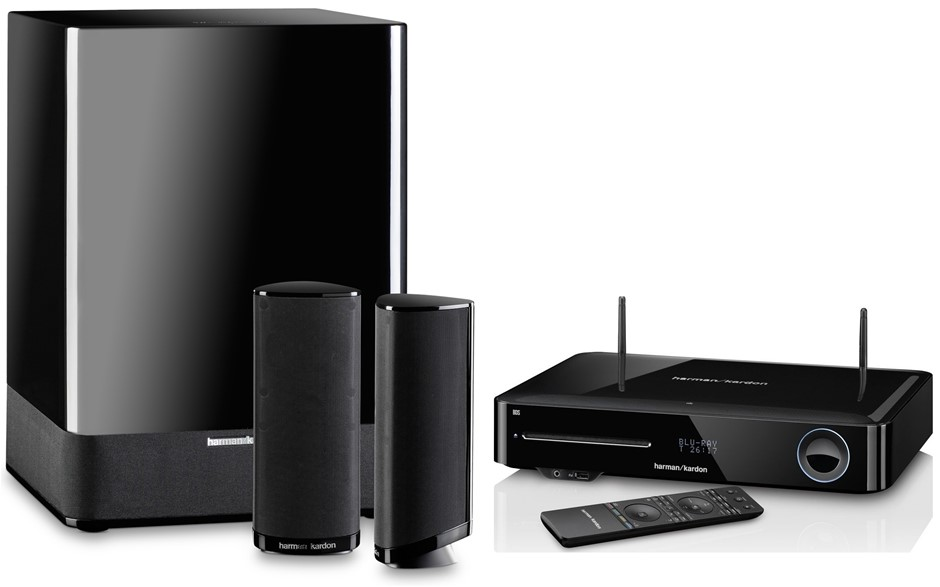harman kardon 2 1 channel home theatre system with 3d blu. Black Bedroom Furniture Sets. Home Design Ideas