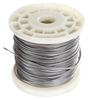 100M x Stainless Steel Wire Rope, 1.6mm Dia, Construction 7x7, Grade 316. (