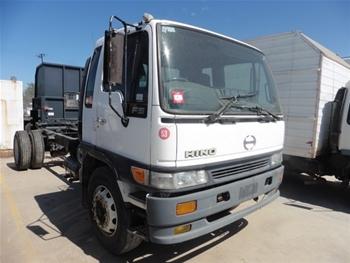 Hino FG1J 4x2 Cab Chassis Truck, 1999