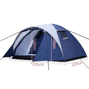 Weisshorn 4 Person Canvas Dome Camping T