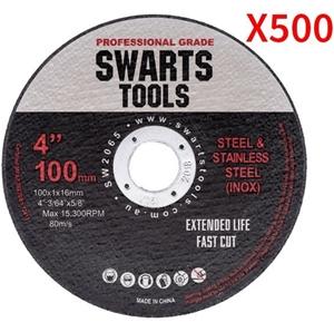 """500 X 4"""" 100Mm Cutting Disc Wheel Thin A"""