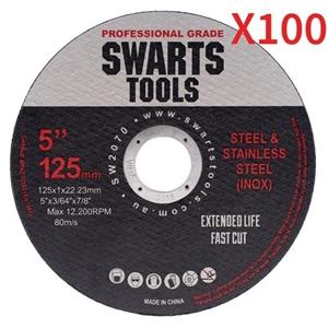 """100 X 5"""" 125Mm Cutting Disc Wheel Thin A"""