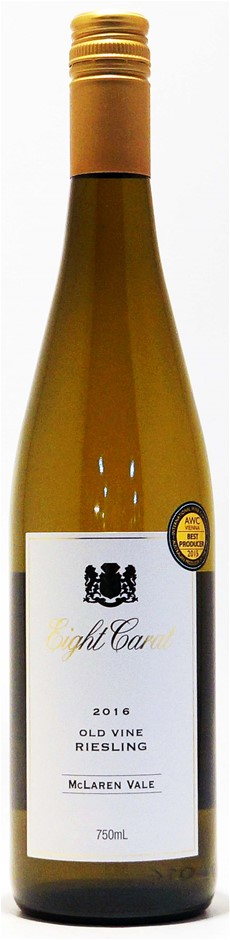Pirramimma `Eight Carat` Old Vine Riesling 2016 (12 x 750mL), SA.