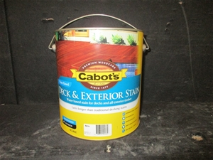 Bundle Of 2 X Cabot 39 S Deck Exterior Stain Water Based