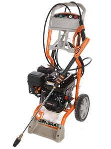GENERAC 2500psi Water Pressure Cleaner with 196cc OHV Engine