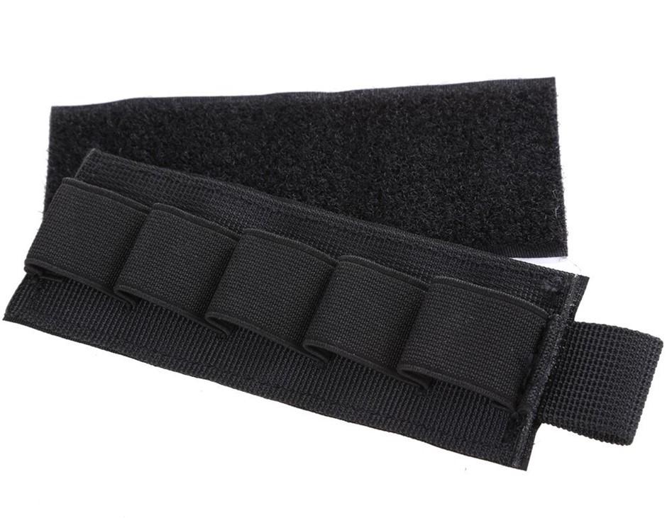 Seal 6 Shotgun Rifle 5 Shell Butt Stock Storage Nylon. Buyers Note - Discou