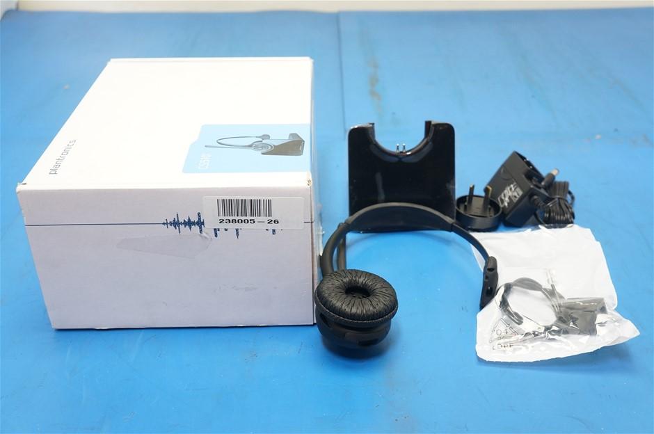 plantronics cs510 wireless headset manual