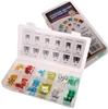 80pc Auto Fuse Kit Standard & Mini, Contents: Refer Image. Buyers Note - Di