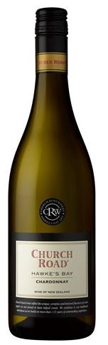 Church Road Chardonnay 2017 (6 x 750mL), Hawke's Bay, NZ.