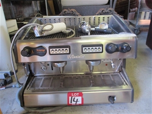 Fiamma espresso machine, Model Prestige Revolution Atlantic 2 Group Auction (0014-3013298 ...
