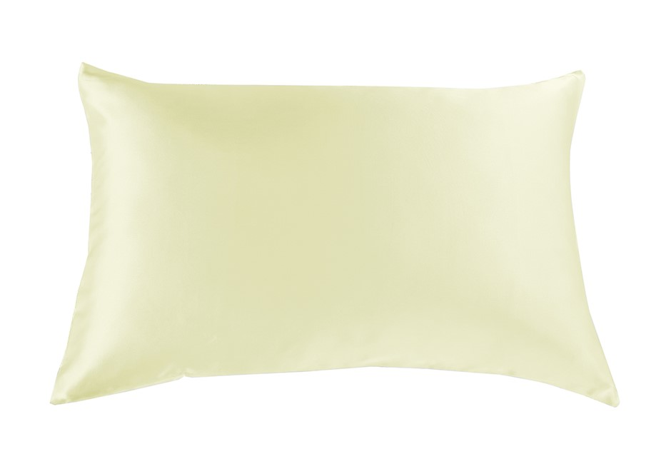 SILK PILLOW CASE TWIN PACK - Ivory Colour