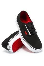 5065efb4d9bb Buy Vans - Authentic Pop Black Red - Shoes US 8.5M
