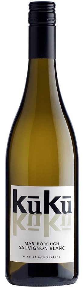 kuku Sauvignon Blanc 2016 (12 x 750mL), Marlborough, NZ.