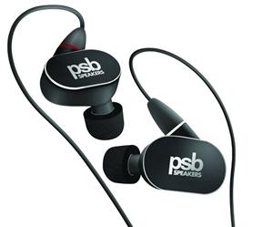 PSB M4U4 Dual-Driver In-Ear Headphones (