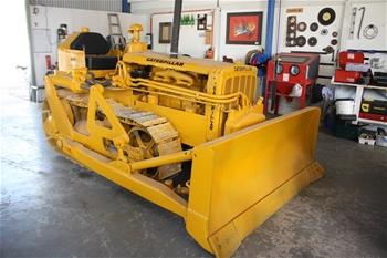 1950's Caterpillar D2 4U Crawler Tractor