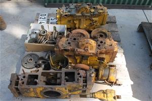 Caterpillar D2 4U and 5U Pilot Motor Parts