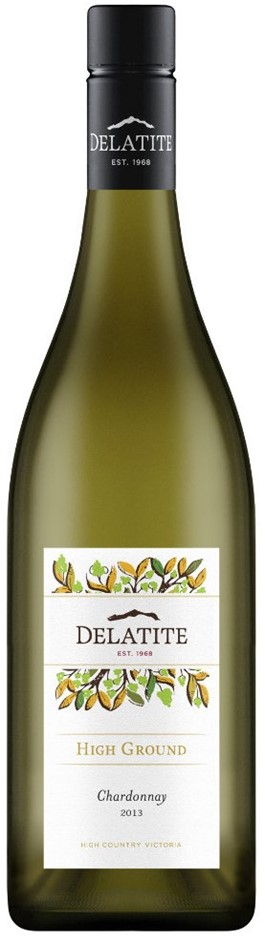 Delatite `High Ground` Chardonnay 2016 (12 x 750mL), VIC.
