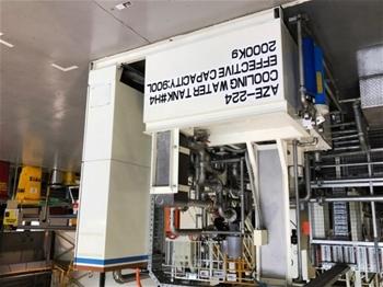 Aluminium Casting – Cooling Water Tank