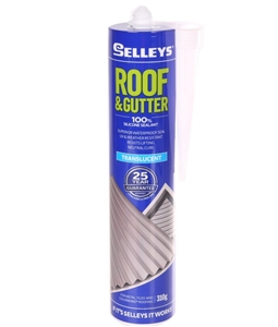 9 X Selleys Roof Amp Gutter Silicone Sealants 310g