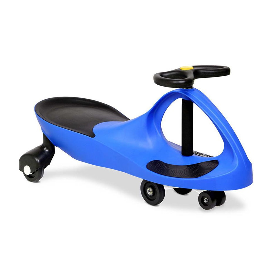 pedal free swing car 79cm blue