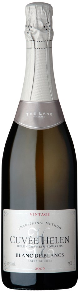 The Lane `Cuvee Helen` Vintage Blanc de Blancs 2009 (12x750mL) ADL Hills.