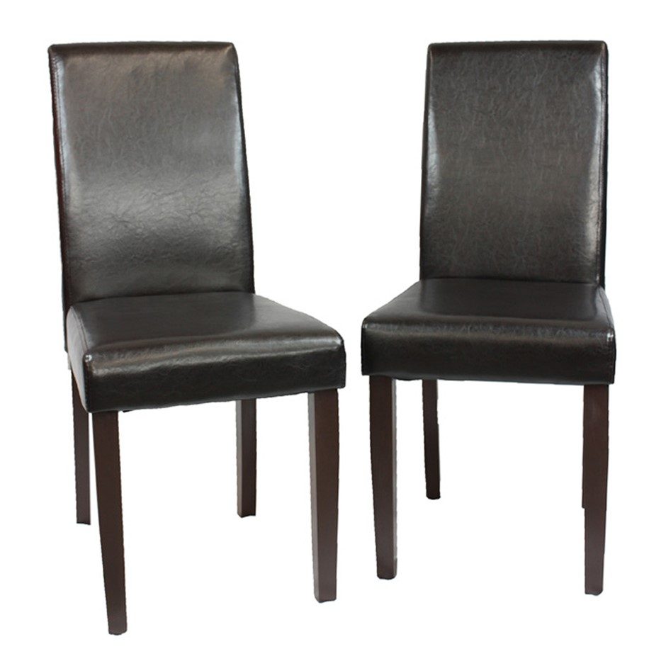 Set of 2 x Montina Wooden Dining Chairs