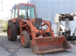 belarus 572 4x4 loader fwa tractor with front end loader auction