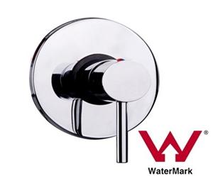 Chrome Bathroom Shower Wall Mixer w/ Wat