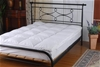 100% White Goose Feather Mattress Topper -Double