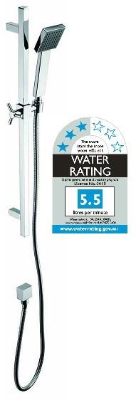 Bathroom Shower Handle Tap w Rail