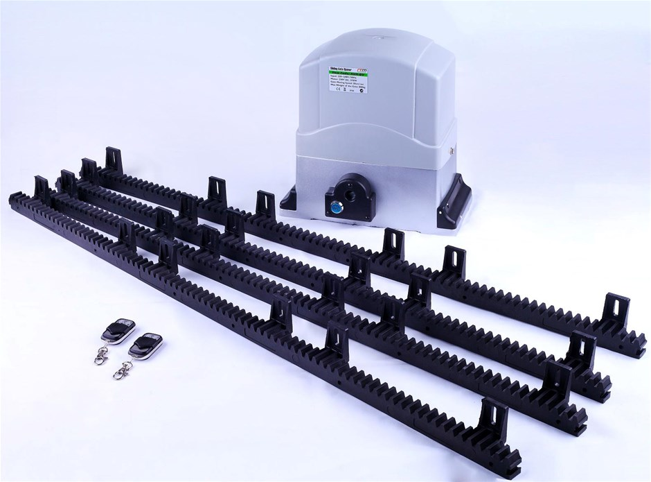 800KG Auto Slide Sliding Gate Opener Automatic w 4m Rail
