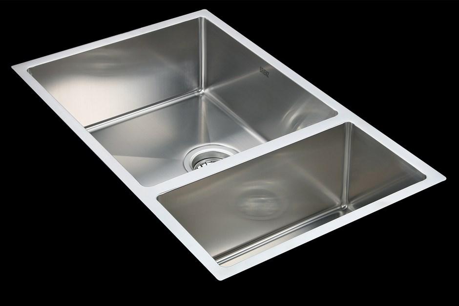 715x440mm Stainless Steel Undermount / Topmount Kitchen Sink with Waste