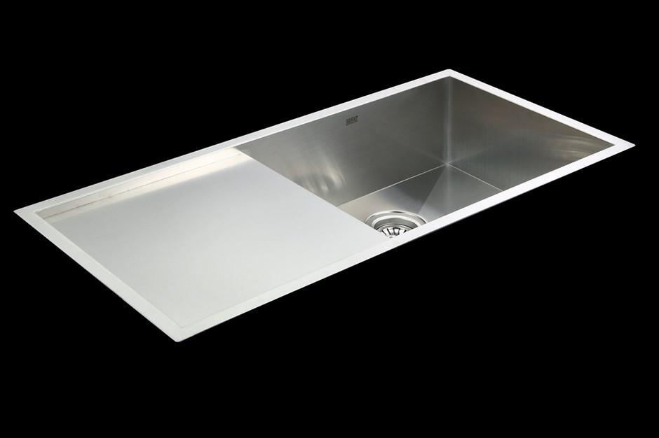 Handmade SS Undermount / Topmount Kitchen Sink with Waste