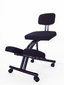 buy ergonomic office kneeling chair graysonline australia