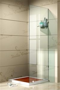 800x800mm Walk In Wetroom Shower System