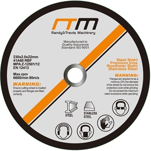 """230mm 9"""" Cutting Disc Wheel for Angle Gr"""
