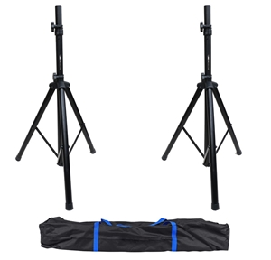 Tripod DJ PA Speaker Stand Set with Carr