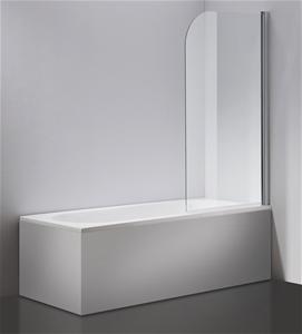 180° Pivot 6mm Glass Over Bath Shower Sc