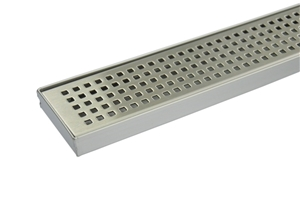 900mm Bathroom Shower S/S Grate Drain w/