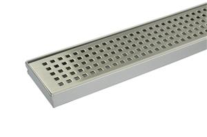 900mm Bathroom Shower S/S Grate Drain w/