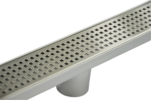 800mm Bathroom Shower S/S Grate Drain w/