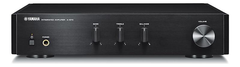 Yamaha A-670 Integrated Amplifier (Black)