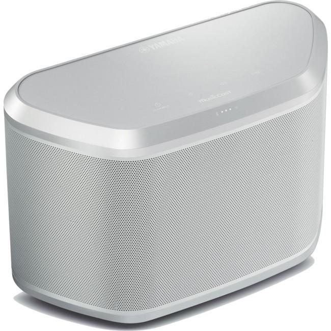 Yamaha WX-030 Wi-Fi-Enabled Streaming Speaker (White)