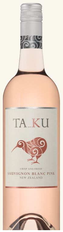 Ta_Ku `Pink` Sauvignon Blanc 2017 (6 x 750mL), Marlborough, NZ.